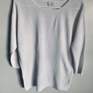 White Wilfred sweater. Size small. Loose fit.